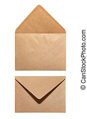 2 sides of envelope
