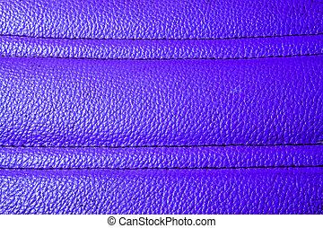 2 Striped purple leather