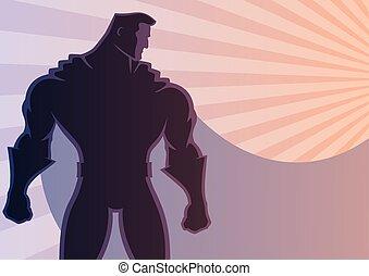 2, superhero, achtergrond