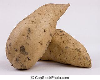 Sweet Potatoes - 2 Sweet Potatoes... Sweet Potato Pie Anyone...