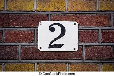 2, szám