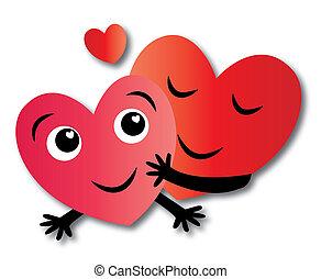 2 szív, szerelemben