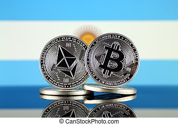 2, términos, flag., (btc), bitcoin, cryptocurrencies,...