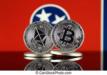 2, términos, versión, flag., (btc), bitcoin,...