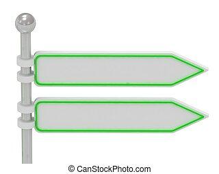 2, tekens & borden, richting