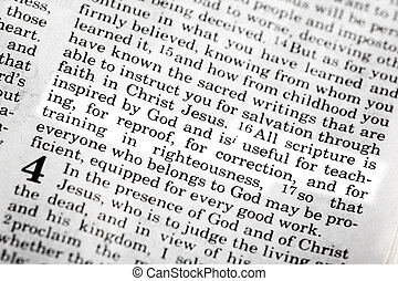 2 Timothy 3:16 - A popular verse in the Christian New ...