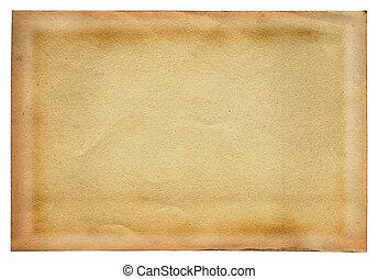 #2, weißes, papier, altes , seite