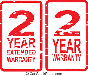 2 Year Warranty Stamps