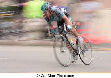 #2, závodník, jezdit na kole