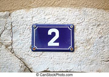 2, zahl
