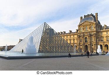 20., よろい窓, パリ, 楽しみなさい, 天候, 観光客, -, 3月, ma