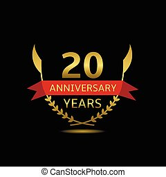 20, aniversário, anos