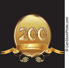 20, anniversario, compleanno, sigillo