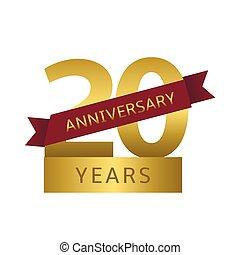 20 anos, aniversário