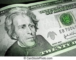 20, dollar