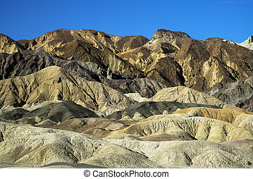 20 Mule Team Canyon in Death Valley National Park, ...