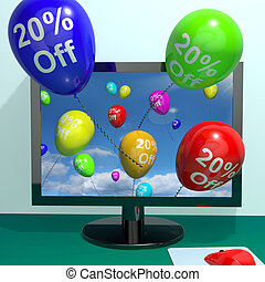 20% Off Balloons From Computer Shows Sale Discount Of Twenty Percent Online