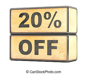 20 percent sale discount