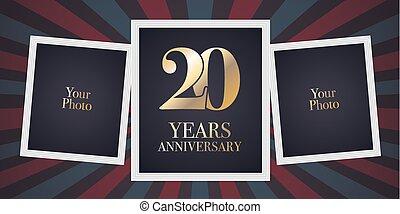 Years anniversary pictogram vector icon th year birthday