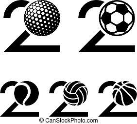 20 years sport ball anniversary