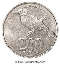 200, indonesiano, rupiah, moneta