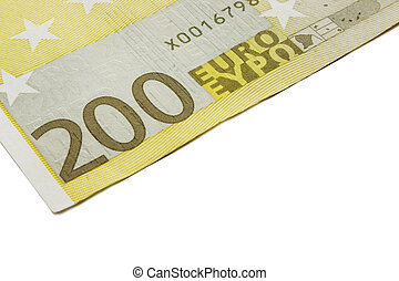 200, rekening, eurobiljet