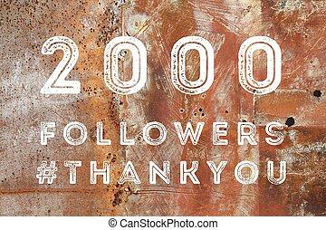 2000 fans