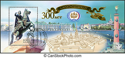 2003:, -, anniversaire, 300th, spectacles, russie, st.petersburg