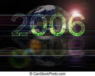 2006 Year background