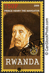 2009:, (139, -, ruanda, henry, retrato, navegante, príncipe,...
