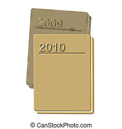 2009 and 2010 Diaries