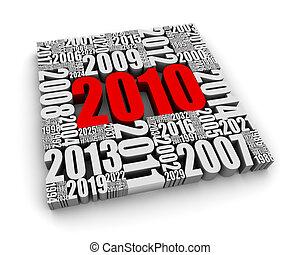 2010, annonce