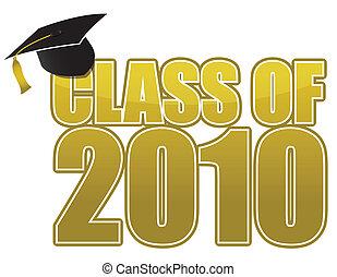 2010, graduación