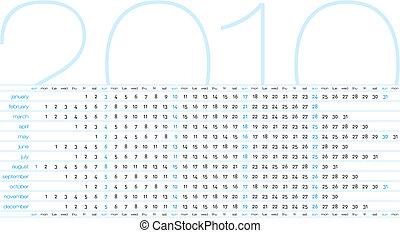 2010., kalender