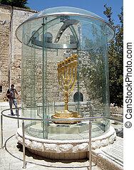 2010, manía, menorah, jerusalén