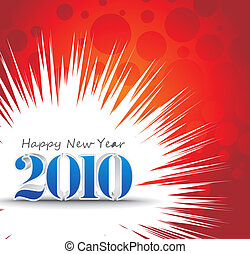 2010 new year background