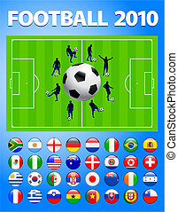 2010 World Soccer Football Match