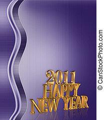 2011, 新年おめでとう, 背景