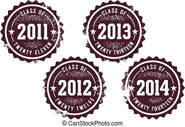 2011-2014, klassificera
