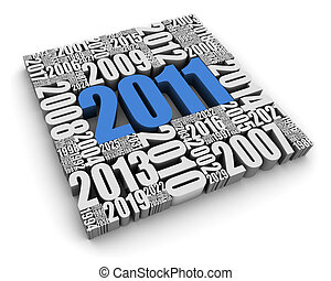 2011, annonce