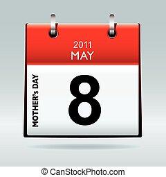 2011, día, nosotros, madres