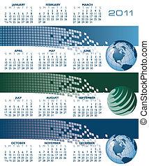2011 globe Calendar