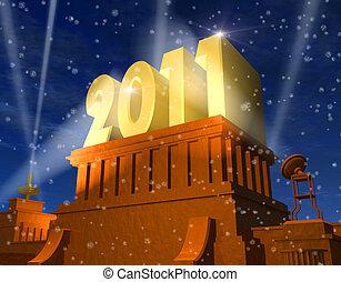 2011, nowy rok, celebrowanie