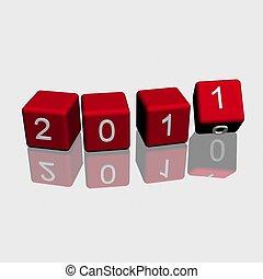 2011, nowy rok