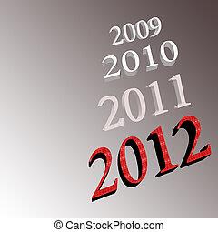 2012, ano novo