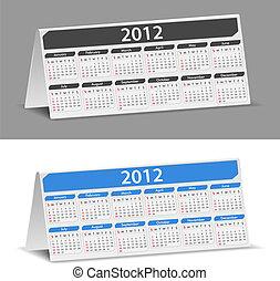 2012, bureau kalender