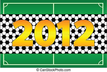 2012, championnat, euro, football, invitation