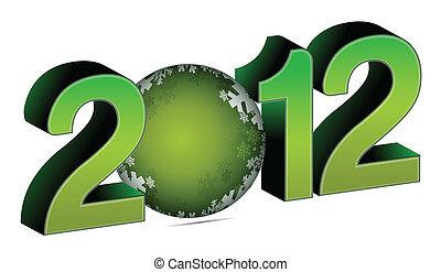 2012, flitter, weihnachten