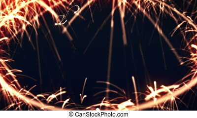 2012 Happy New Year Sparkler