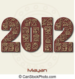 2012, image, mayan, vær, år